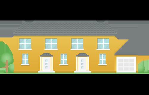 Icon: Mehrfamilienhaus