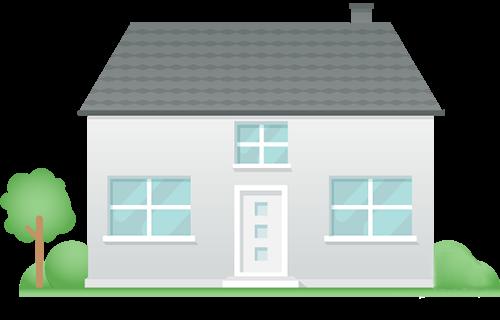 Icon: Einfamilienhaus
